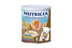 Nutricia Κρέμα Πολυδημητριακά, από τον 8ο μήνα, δεν περιέχει τεχνητά χρώματα και αρώματα, για ένα υγιές ανοσοποιητικό σύστημα, 300gr