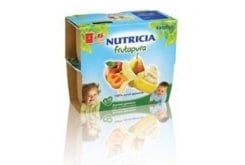 Nutricia Frutapura, Φρουτόκρεμα από 6 εως 36 μηνών, από 100% αγνά φρούτα, 4x100gr