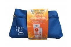 AG Pharm Summer Pack με Sunscreen Face & Body Lotion SPF30 Αντιηλιακό Γαλάκτωμα Προσώπου & Σώματος, 100ml & ΔΩΡΟ Sunscreen Face Cream SPF50+ Αντιηλιακή Κρέμα Προσώπου, 50ml