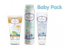 """Εικόνα του """"Pharmasept Baby Pack με Natural Sun Cream SPF30 Βρεφική Αντηλιακή Κρέμα για Πρόσωπο & Σώμα, 100ml, Mild Bath Αφρόλουτρο για σώμα & μαλλιά, 300ml & Extra Calm Cream Κρέμα Αλλαγής Πάνας,150ml"""""""
