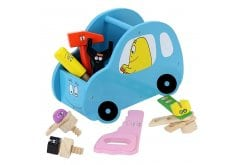 Barbo Toys Barbapapa Car with Tools in Light Blue for Ages 3+, 1 pc