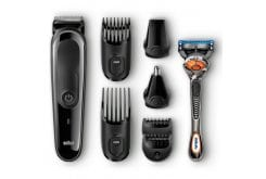 Braun MultiGroomingKit MGK 3060  8-in-one precision face and head trimming kit