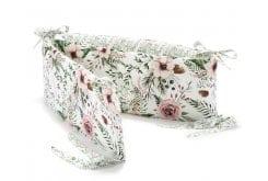 La Millou Wild Blossom Πάντα Βαμβακερό Προστατευτικό Κούνιας Διπλής Όψης, 1 τεμάχιο