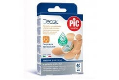 Pic Solution Classic Plasters, 40 pieces