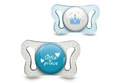 Chicco Natural Fit Micro 0-2m Pacifiers Blue, 2 pcs