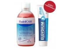 """Εικόνα του """"Elgydium Eludril Care Στοματικό Διάλυμα για την Προστασία & τη Διατήρηση της Υγείας των Ούλων & ΔΩΡΟ Elgydium Anti-plaqueΟδοντόκρεμα κατά της Βακτηριακής Πλάκας, 38ml"""""""