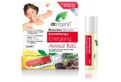 Dr. Organic Energising Aroma Ball Τονωτικό Ίαμα με συνδυασμό Αιθέριων Ελαίων, 10ml