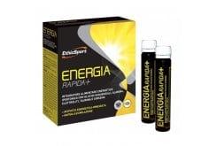 Ethicsport Energia Rapida + Αθλητικό Συμπλήρωμα με Υδατάνθρακες, αλανίνη, ηλεκτρολύτες, ταυρίνη & τζίνσενγκ, 10 x 25ml