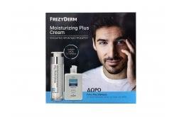 Frezyderm Promo Moisturizing Plus Cream 30+ Πλούσια & Απαλή Κρέμα για Πρόσωπο & Λαιμό, 50ml & ΔΩΡΟ Every Day Shampoo Απαλό Σαμπουάν για Καθημερινή Χρήση, 100ml
