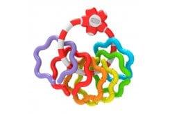 Chicco Baby Senses Keys 3m+ Χρωματιστοί Δακτύλιοι, 1 τεμάχιο