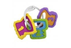 Chicco Baby Senses Keys 3m+ Xρωματιστά Κλειδιά, 1 τεμάχιο