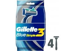 Gillete_Blue_Simple3_4pcs