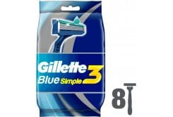 Gillete_Blue_Simple3_8pcs