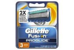 Gillette Fusion Proglide Ανταλλακτικές Κεφαλές 3 τμχ