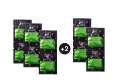 5 x Apivita Express Gold Μάσκα ενυδάτωσης & αναζωογόνησης με Φραγκόσυκο (3+2 ΔΩΡΟ),10 x 8ml
