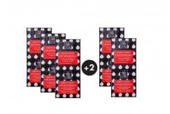 5 x Apivita Pomegranate Face Mask Express Beauty Μάσκα Περιποίησης, Αναζωογόνησης & Λάμψης προσώπου με Ρόδι (3+2 ΔΩΡΟ), 10 x 8ml