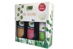 Green Care Σετ για Μαλλιά, 1 Shampoo Normal 500ml, 1 Shampoo Colored 500ml & ΔΩΡΟ 1 Conditioner 300ml
