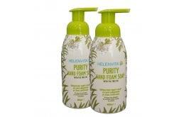 Helenvita (1+1ΔΩΡΟ) Purity Hand Foam Soap Καθαριστικός Αφρός Χεριών, 2x400ml