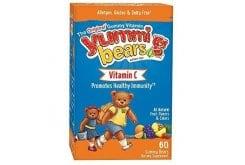 Hero Yummi Bears Vitamin C Ζελεδάκια Βιταμίνης C για Παιδιά, 60 gummies