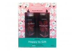 """Εικόνα του """"Korres Happy to Gift Apple Blossom με Eau de Cologne Αναζωογονητική Κολόνια, 100ml & ΔΩΡΟ Showergel Αφρόλουτρο με Ενυδατικές Πρωτείνες Σιταριού, 250ml"""""""