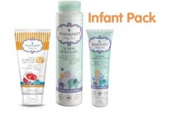 """Εικόνα του """"Pharmasept Infant Pack με Natural Sun Cream SPF50+ Βρεφική Αντηλιακή Κρέμα για Πρόσωπο & Σώμα, 100ml, Mild Bath Αφρόλουτρο για σώμα & μαλλιά, 300ml & Soothing Cream Ενυδατική Κρέμα, 150ml """""""