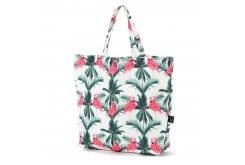 La Millou Shopper Bag Aruba's Flamingos Τσάντα Θαλάσσης με φλαμίνγκο (56x42cm), 1 τεμάχιο