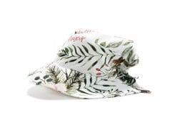 La Millou Lady's Hat Wild Blossom Βαμβακερό Καλοκαιρινό Καπελάκι για μοντέρνα κορίτσια με φιόγκο, 1 τεμάχιο