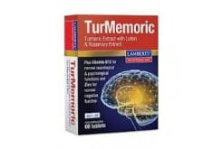 Lamberts TurMemoric Συμπλήρωμα Διατροφής με Εκχύλισμα Ρίζας Κουρκουμά, 60 tabs