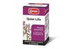 Lanes Quiet Life Συμπλήρωμα Διατροφής Φυτικής Προέλευσης για την Αντιμετώπιση του Στρες, 100 tabs