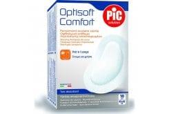 Pic Solution Optisoft Comfort (95 x 65mm) Οφθαλμικό Επίθεμα Περιποίησης με αυτοκόλλητο, 10 τεμάχια
