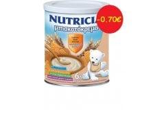 Nutricia Μπισκοτόκρεμα Βρεφική Κρέμα ΠΑΚΕΤΟ ΠΡΟΣΦΟΡΑΣ -0.70€ από τον 6ο μήνα, 300gr
