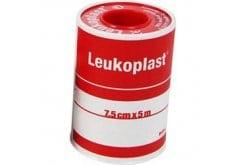 Leukoplast Αυτοκόλλητη Επιδεσμική Ταινία, 7.5cm x 5m