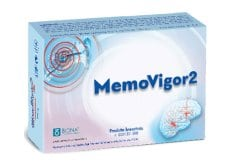 Europharma Memovigor 2 Φυσικό Σκεύασμα για την Αντιμετώπιση των Ιλίγγων, των Εμβοών, 20 tabs