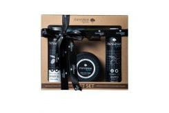 Messinian Spa Premium Gift Set Black Truffle Σετ Μαύρης Τρούφας με Αφρόλουτρο, 300ml, Σαμπουάν για αδύναμα μαλλιά, 300ml & Κρέμα Χεριών & Σώματος, 250ml