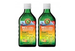 2 x Moller's Cod Liver Oil in Tutti Frutti in liquid form with Fruit flavor, 2 x 250ml