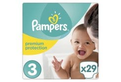 Pampers New Baby Midi No. 3 (5-9kg) Βρεφικές Πάνες, 29 τεμάχια