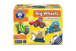 Orchard Toys Big Wheels Jigsaw Puzzle Παζλ από 3 Ετών+, 1 τμχ