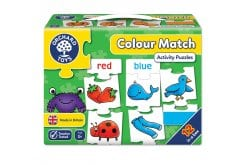 Orchard Toys Colour Match Jigsaw Puzzle Παζλ from 3Y+, 1 pc