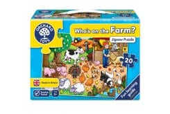 Orchard Toys Who's on the Farm Jigsaw Puzzle Παζλ για 3 Ετών+, 20 κομμάτια
