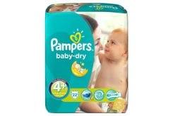 """Εικόνα του """"Pampers Baby Dry Maxi Plus No. 4+(9-20kg) Βρεφικές Πάνες, 22 τεμάχια"""""""