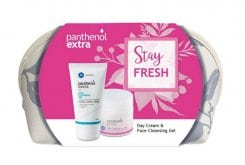 Panthenol Extra Stay Fresh με Day Cream SPF15 Ενυδατική Κρέμα Ημέρας, 50ml & Face Cleansing Gel Τζελ Καθαρισμού Προσώπου, 150ml σε Τσαντάκι