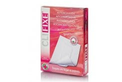 Pharmasept CLIFΙΧΕ Self-sticking, sterile, non-stick gauze with high absorbency, made from 100% natural cotton 5,5 x 7 cm, 3 pcs