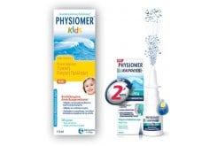 Physiomer KIDS PROMO PACK με Physiomer Kids Ρινικό Σπρέι Κατάλληλο για Παιδιά από 2 ετών, 115ml & ΜΑΖΙ Physiomer Express Υπέρτονο Ρινικό Αποσυμφορητικό με θαλασσινό νερό, 20ml