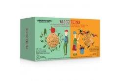 Power Health Biscoteins Απολαυστικά Μπισκότα Πλούσια σε Πρωτεΐνες & Φυτικές Ίνες, με Γεύση Μήλου Κανέλας & Φρούτων του Δάσους, 10 τεμάχια