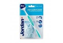 Jordan Easy Clean Flosser Σύστημα Οδοντικού Νήματος Λαβή & 20 Ανταλλακτικά Νήματα