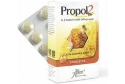 """Εικόνα του """"Aboca Propol2 Emf Tabs Παστίλιες για τον Ερεθισμένο Λαιμό, 30 παστίλιες"""""""