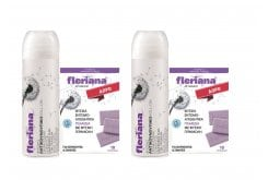 2 x Power Health Fleriana Roll On Αντικουνουπικό Γαλάκτωμα Σώματος, 2 x 100ml & ΔΩΡΟ 2 x Power Health Fleriana Εντομοαπωθητικά Πλακίδια, 2 x 10 πλακίδια