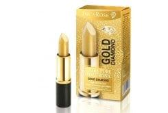 """Εικόνα του """"Inca Rose Gold Diamond Χρυσό Υπερενυδατικό Stick Χειλιών, 4ml"""""""