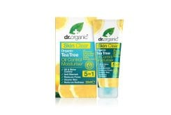 Dr. Organic Skin Clear Organic Tea Tree Oil Control Moisturiser Ενυδατική Κρέμα ταχείας δράσης για Λιπαρές Επιδερμίδες, 50ml