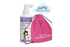 Frezyderm Sensitive Kids Magic Spray for Girls Αρωματική Λοσιόν που ξεμπερδεύει τα μαλλάκια, 150ml & ΔΩΡΟ Πρακτικός Σάκος